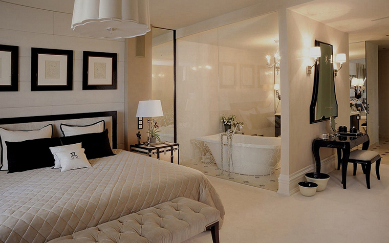 Квартира. спальня из проекта , фото №14460