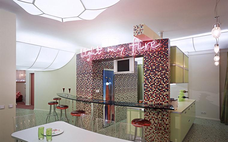 Квартира. кухня из проекта , фото №14510