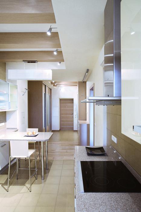Квартира. кухня из проекта , фото №14516