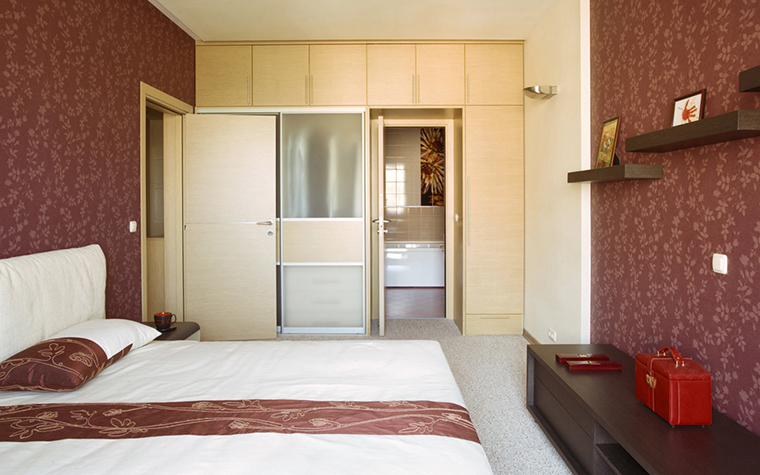 Квартира. спальня из проекта , фото №14518