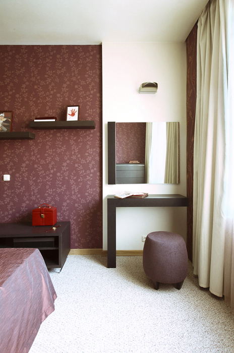 Квартира. спальня из проекта , фото №14519