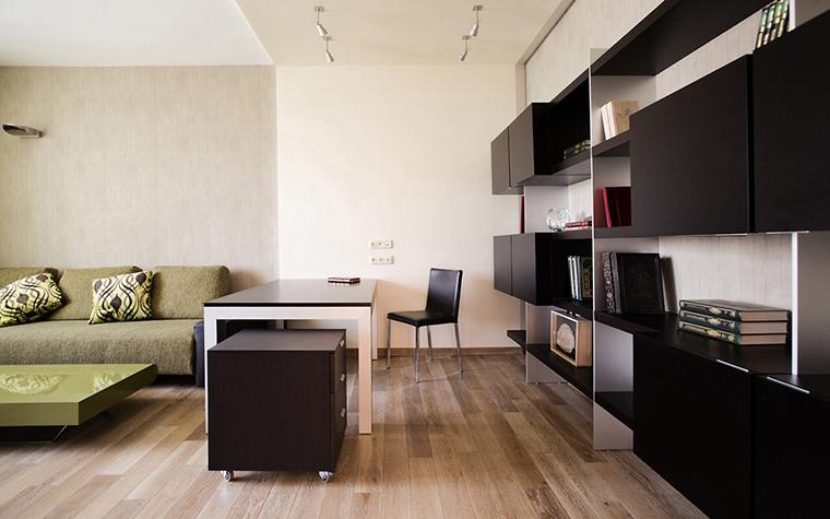 Квартира. кабинет из проекта , фото №14520