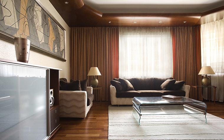 Квартира. гостиная из проекта , фото №14521