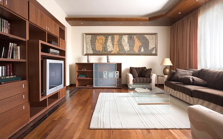 Квартира. гостиная из проекта , фото №14523