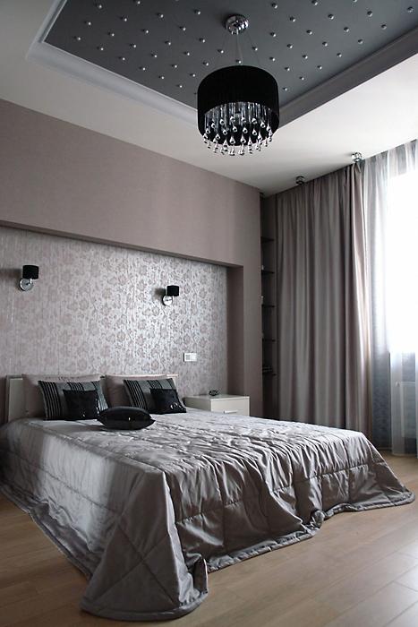Квартира. спальня из проекта , фото №14540