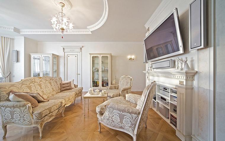 Фото № 14603 гостиная  Квартира