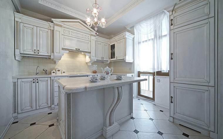 Фото № 14609 кухня  Квартира