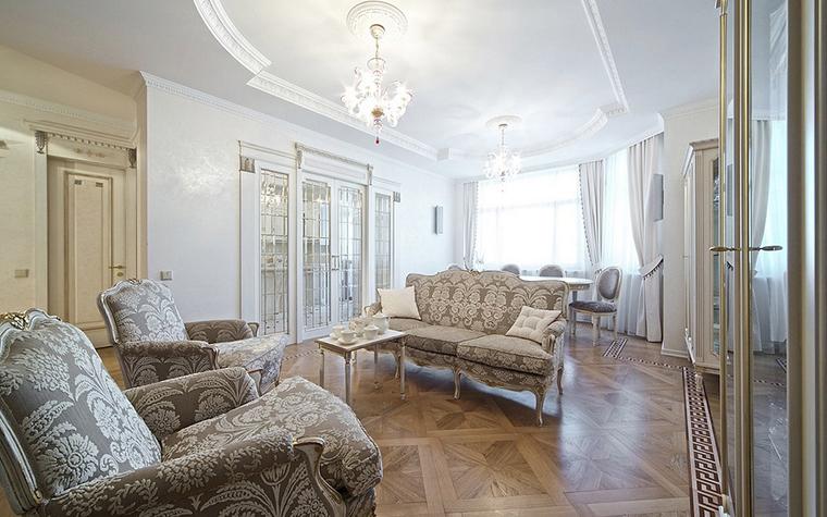 Фото № 14605 гостиная  Квартира