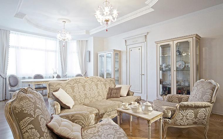 Фото № 14607 гостиная  Квартира