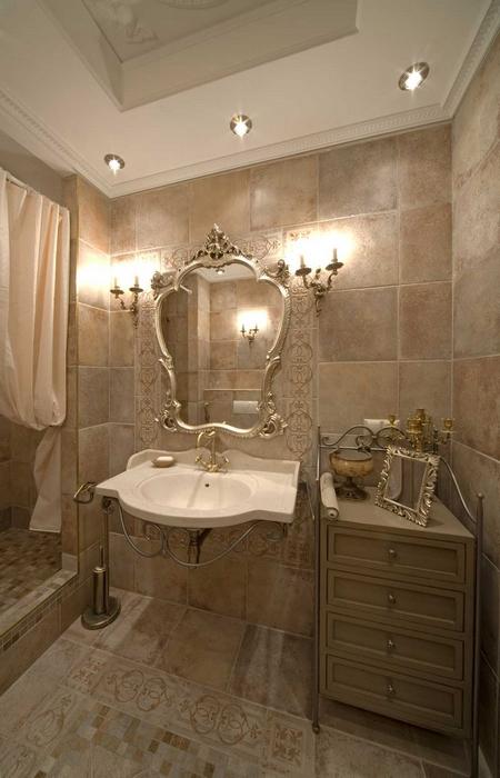 Квартира. ванная из проекта , фото №14620