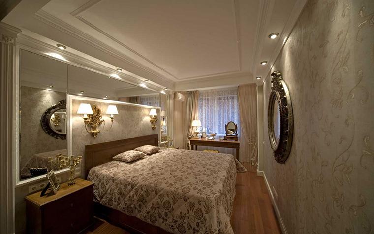 интерьер спальни - фото № 14616