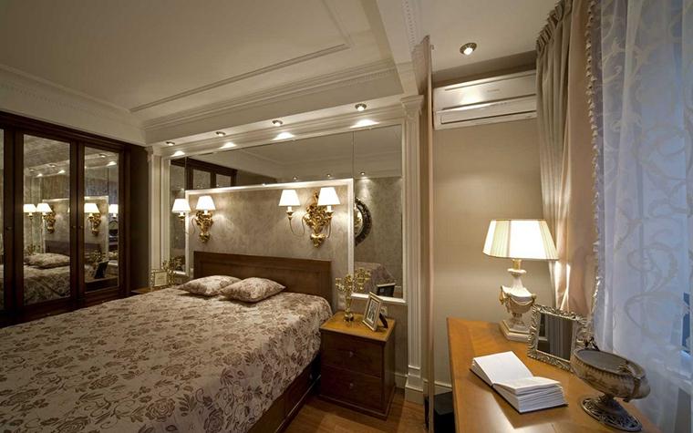 интерьер спальни - фото № 14617