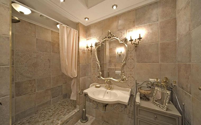 Квартира. ванная из проекта , фото №14729