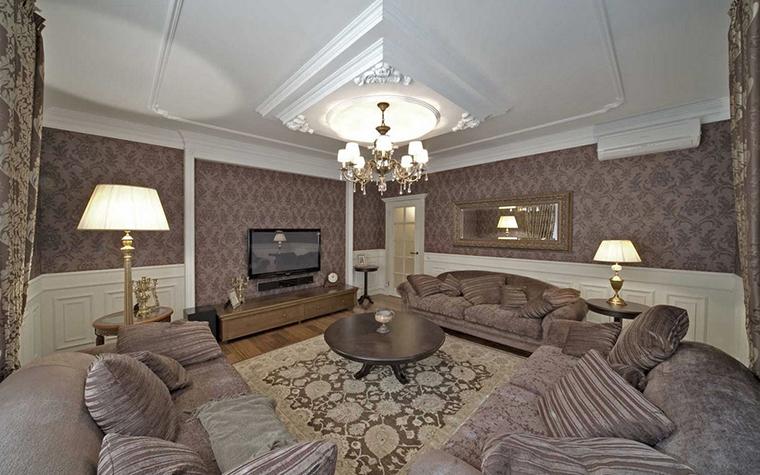 Квартира. гостиная из проекта , фото №14727