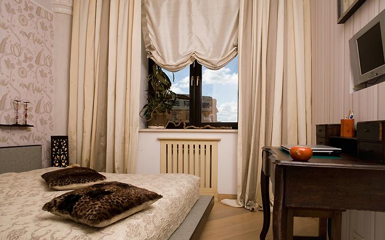 Квартира. спальня из проекта , фото №14716
