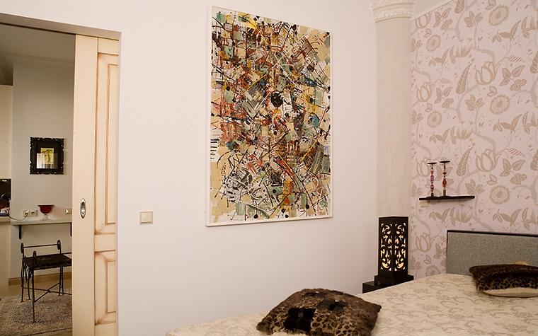 Квартира. спальня из проекта , фото №14717