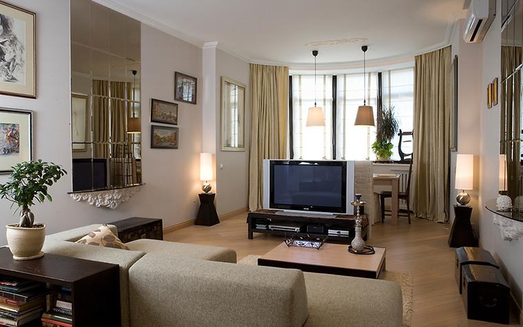 Квартира. гостиная из проекта , фото №14718