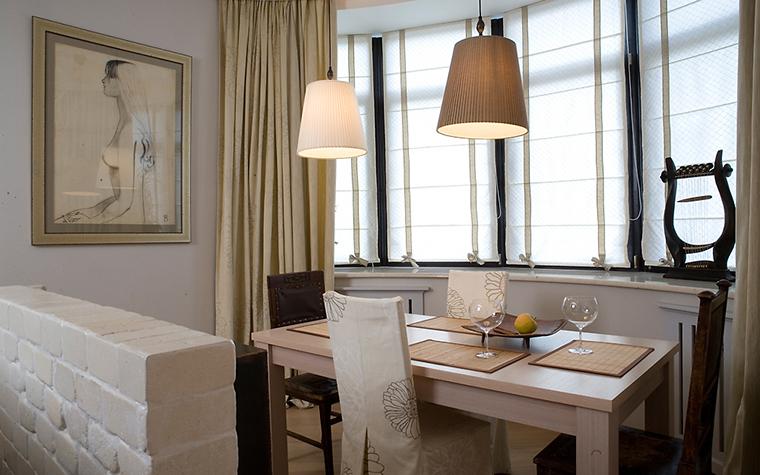 Квартира. столовая из проекта , фото №14720