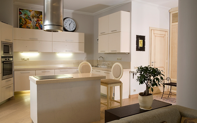 Квартира. кухня из проекта , фото №14709