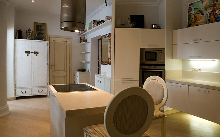 Квартира. кухня из проекта , фото №14710