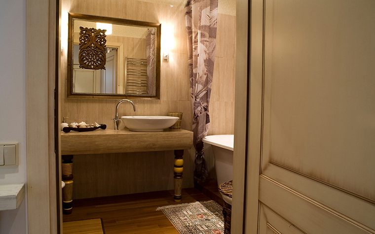 Квартира. ванная из проекта , фото №14712