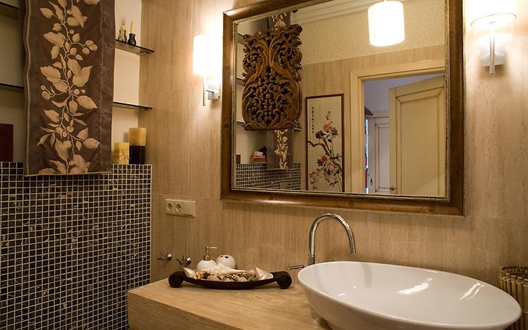 Квартира. ванная из проекта , фото №14713