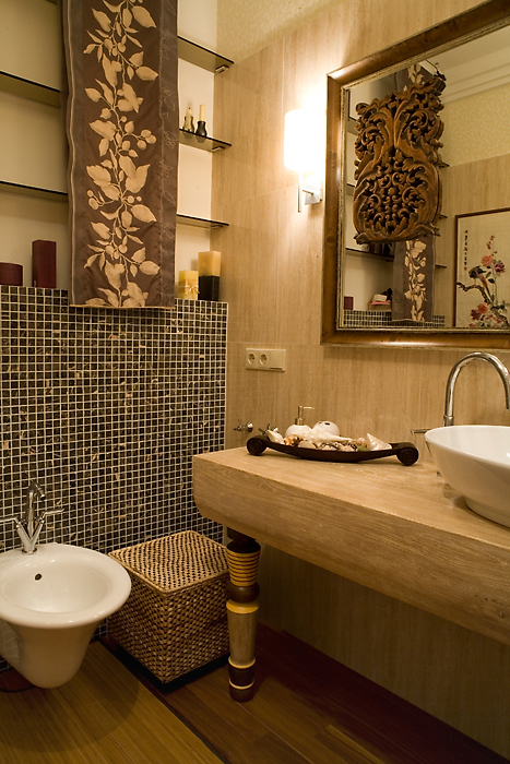 Квартира. ванная из проекта , фото №14714