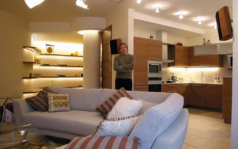 Фото № 14733 гостиная  Квартира