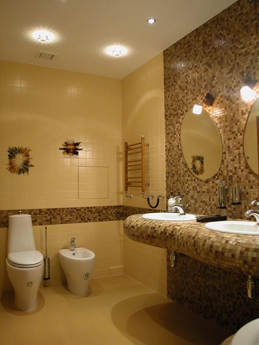 Квартира. ванная из проекта , фото №14734