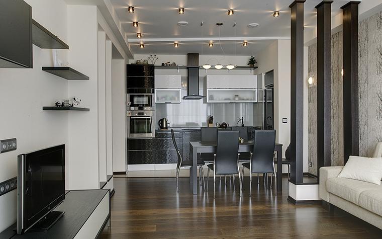 Квартира. кухня из проекта , фото №14757