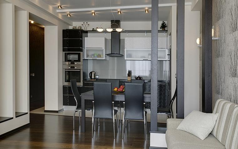 Квартира. кухня из проекта , фото №14759