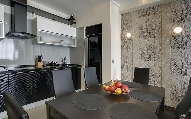 Квартира. кухня из проекта , фото №14760