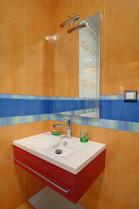 Квартира. ванная из проекта , фото №14741