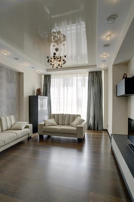 Фото № 14753 гостиная  Квартира