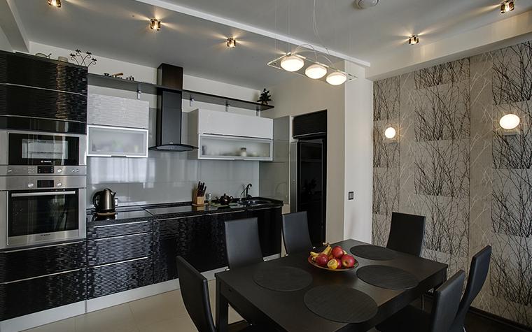 Квартира. кухня из проекта , фото №14764