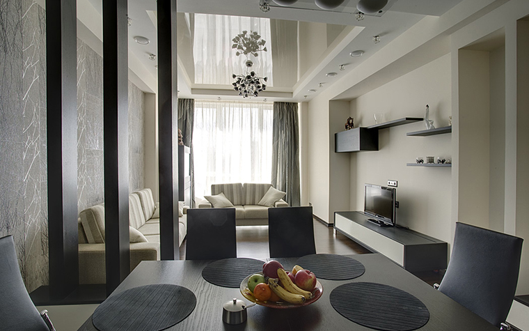 Квартира. кухня из проекта , фото №14767
