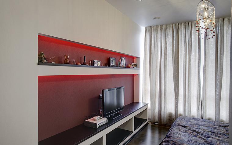 Квартира. спальня из проекта , фото №14781