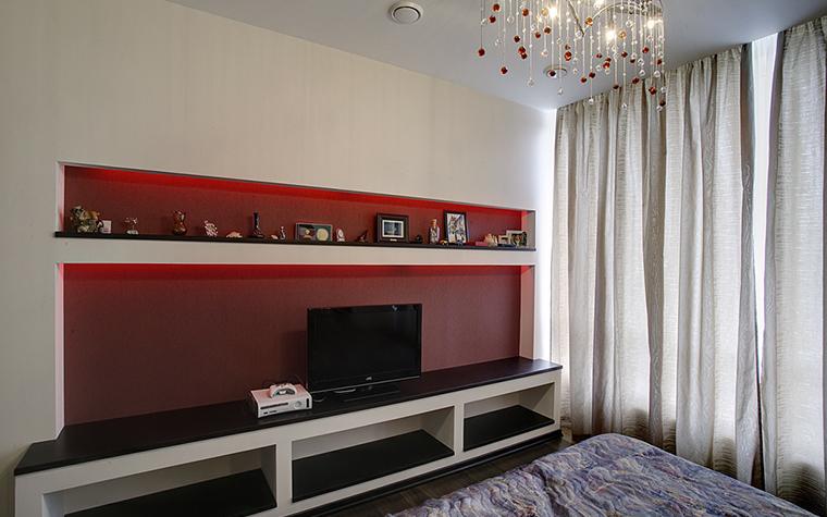 Квартира. спальня из проекта , фото №14782