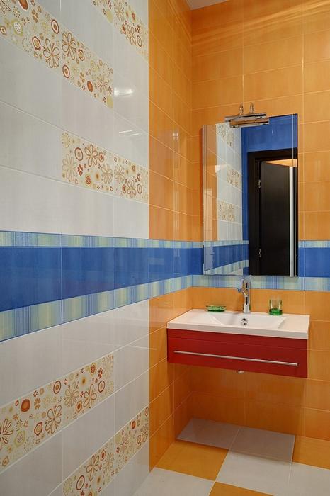 Квартира. ванная из проекта , фото №14744