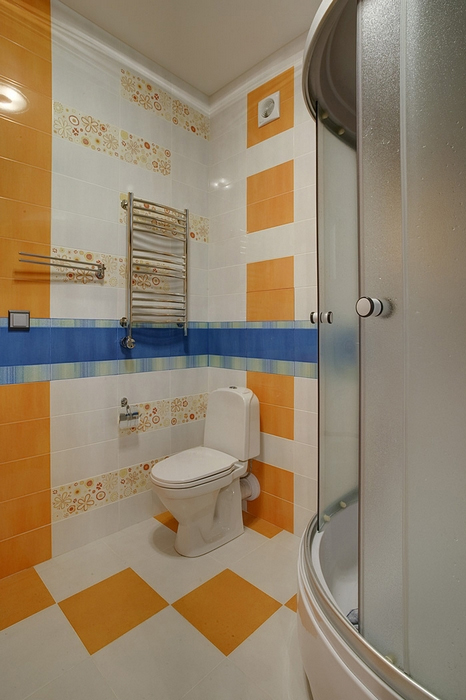 Квартира. ванная из проекта , фото №14745