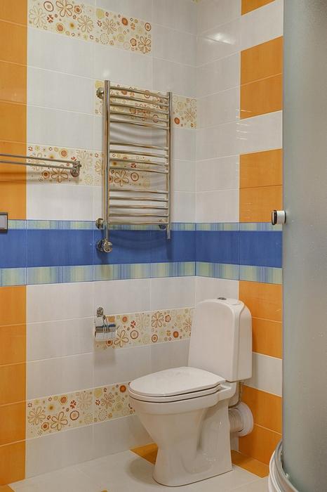 Квартира. ванная из проекта , фото №14746
