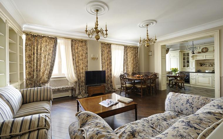 Квартира. гостиная из проекта , фото №14831