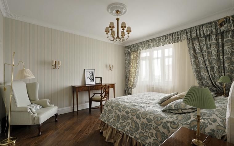 Квартира. спальня из проекта , фото №14836