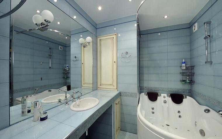 Квартира. ванная из проекта , фото №14835