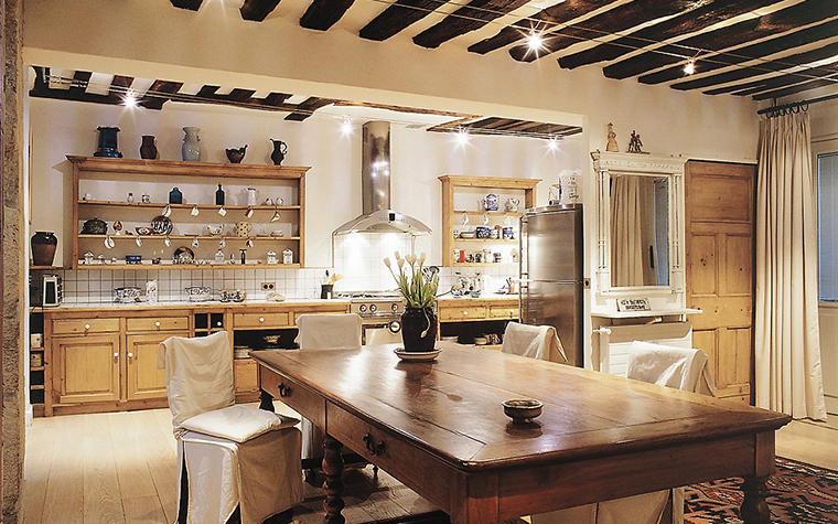 Квартира. кухня из проекта , фото №14854