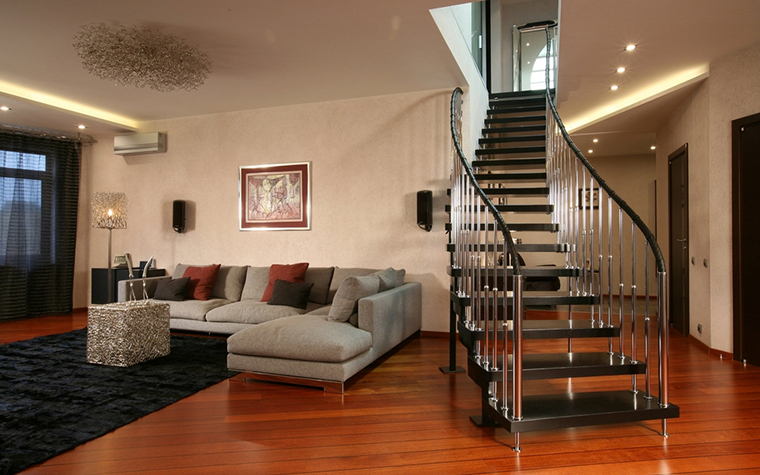 Квартира. гостиная из проекта , фото №15056