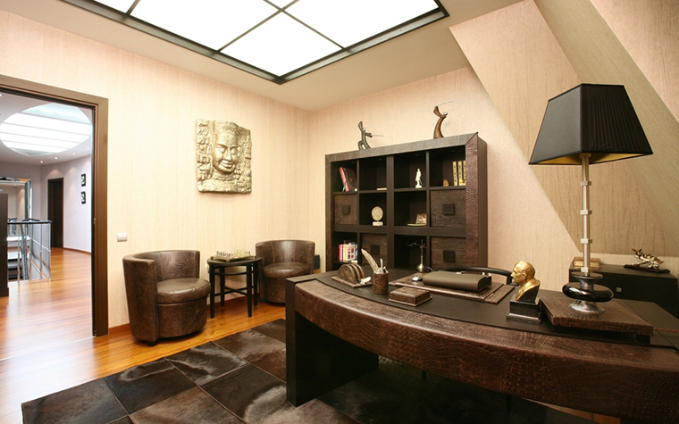 Фото № 15060 кабинет библиотека  Квартира