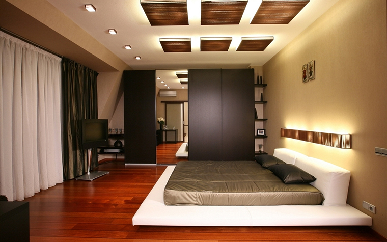 интерьер спальни - фото № 15055
