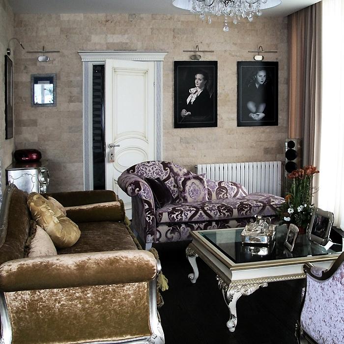 интерьер гостиной - фото № 15065