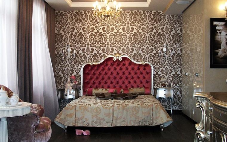 Квартира. спальня из проекта , фото №15071